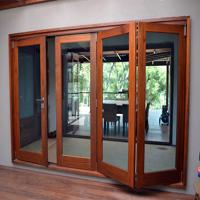2019 Factory Supply Price Aluminium Swing Frosted Doors with Glass Panel