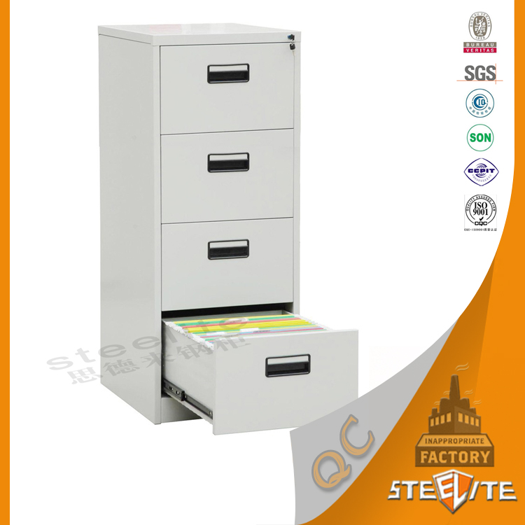 Automatic Production Line Knock Down Office 4 Drawer Steel Filing Cabinet