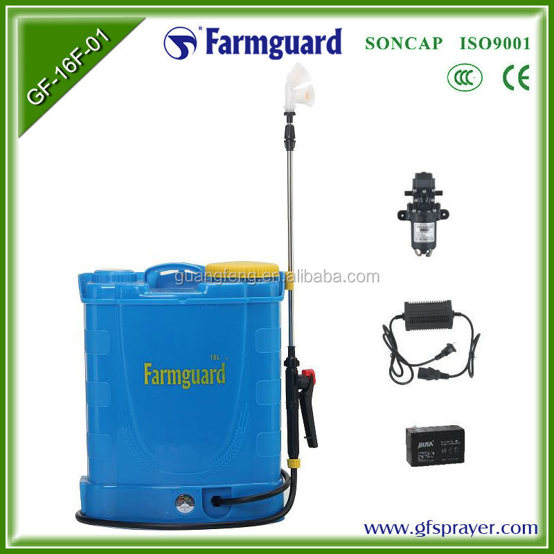 Agricultural Rechargeable Electric Sprayer Battery Operated Pump ...