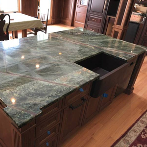 Rainforest Green Marble Countertops Supplieranufacturers At Alibaba