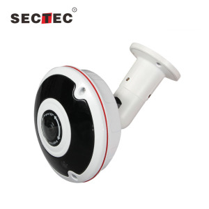 5 Megapixel IP67 Waterproof 360 Degree Fisheye Panoramic IP CCTV Camera