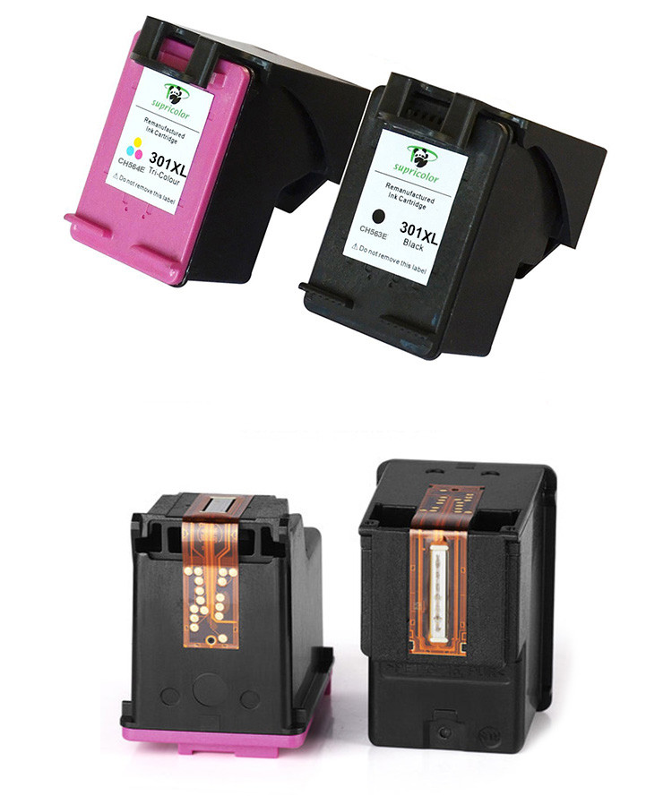 Supricolor for hp301xl for Deskjet 1000 2050 2050s 3050 compatible for hp 301xl ink cartridge