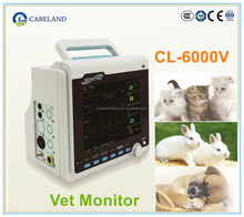 CL-6000V CE marked Portable handhled Multi-parameter Veterinary Patient Monitor for VET