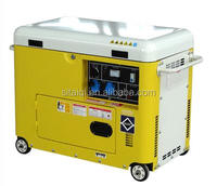Haige Power 4-stroke Air-cooled Diesel Generator 3-phase Voltage ...