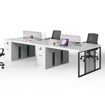 Muebles Oficina Modernos.Una Simple Combinacion De Personal De Mesa Y Silla De Oficina Moderna Creativa Pantalla De Muebles De Oficina Mesa De Trabajo Buy