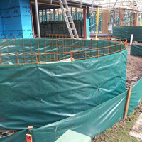 PP Woven Silt fence used for Construction, Garden, agriculture