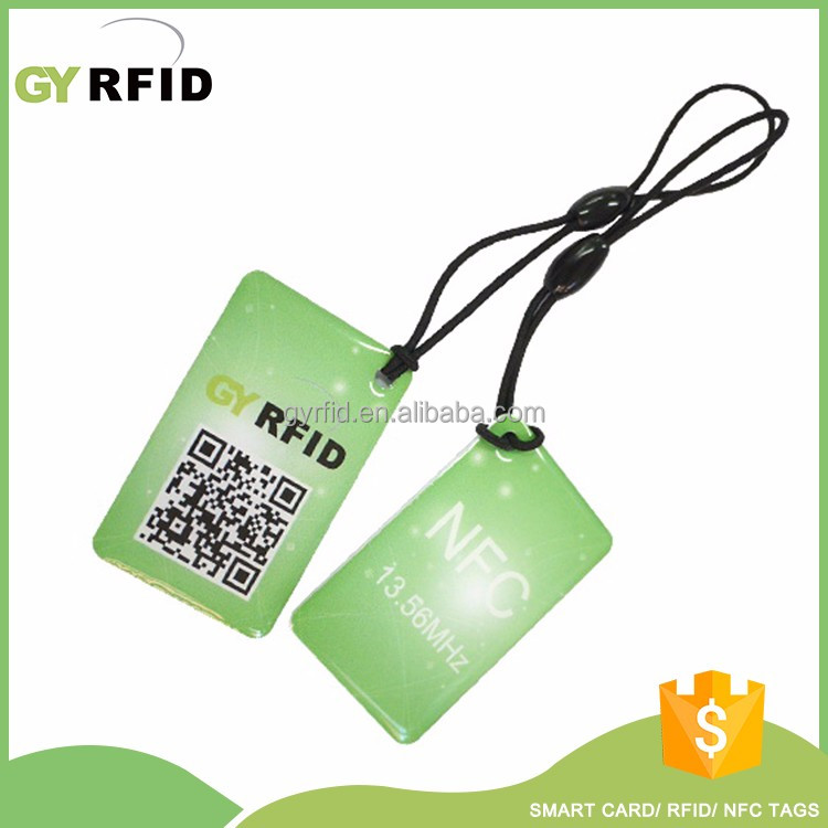 Manufacturer Low Cost Custom Ntag 213 Nfc Rfid Tag Customized Rfid Key Fob