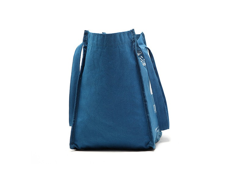China supplier casual blue jeans bags handbags women, fashion portable shopping bag