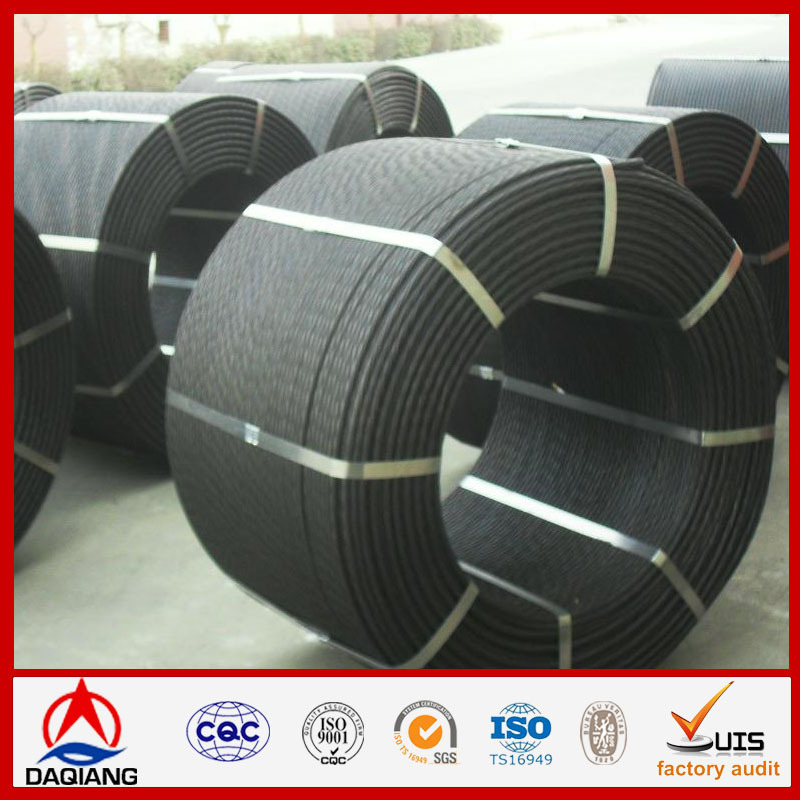 7 wires epoxy coated steel strand for prestressed concrete