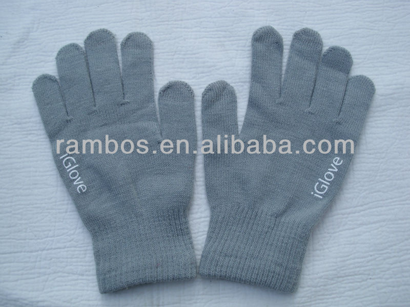 Mobile Phone Gloves Tablet PC Screen Touch Glove iglove for iphone5 for ipad 2 3, for ipad mini