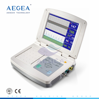AG-BZ012 Hospital clinic used pregnancy infant heart rate examination multi parameter fetal patient monitor price