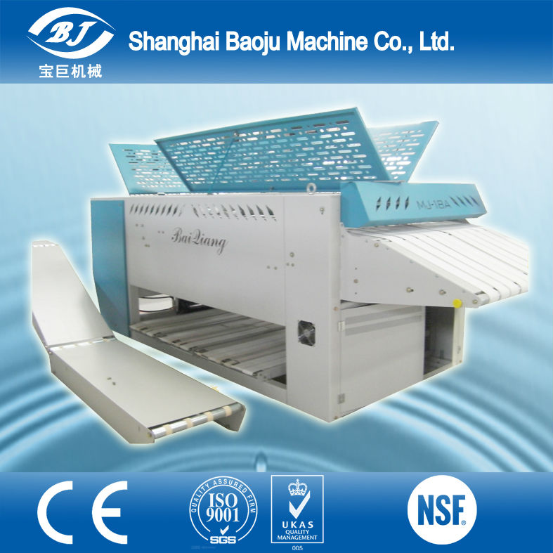 high quality professional towel folding machine fan fold