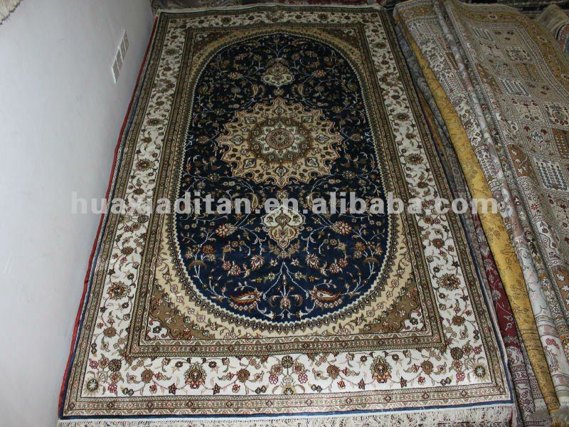 Tabriz Silk Rugs Made By Chinese Silk Carpet Factory At A Cheap