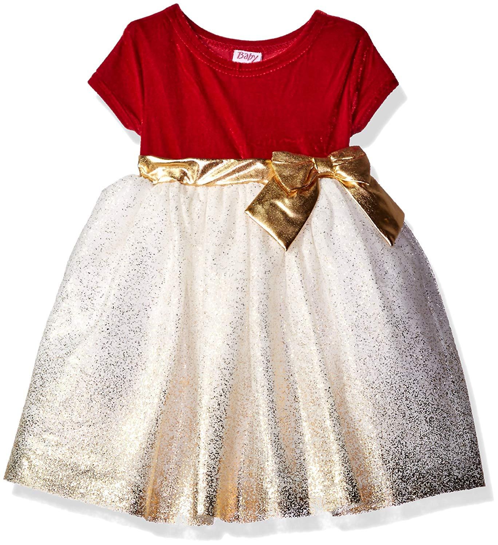 Buy Blueberi Boulevard Little Girls Stretch Velvet Dress With Coat ... 266a24427