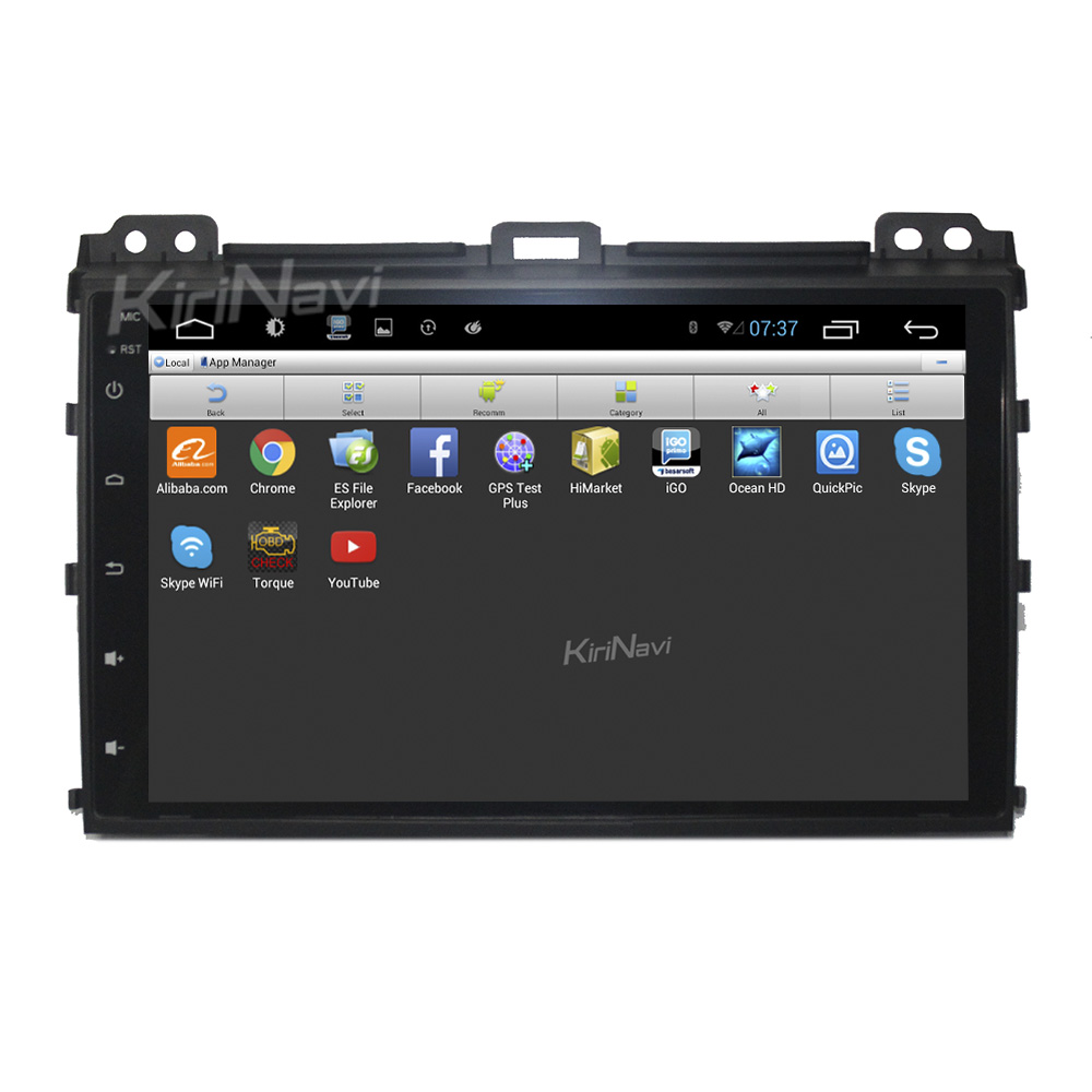 "Kirinavi WC-TP 9002 9"" andriod 6.0 car navigation system for <strong>toyota</strong> <strong>prado</strong> car dvd android 2002 - 2009 Dashboard Placement"