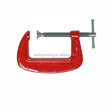 OEM grey cast iron frame with I-beam design and plated threaded screw panel veneer C Woodworking Clamps