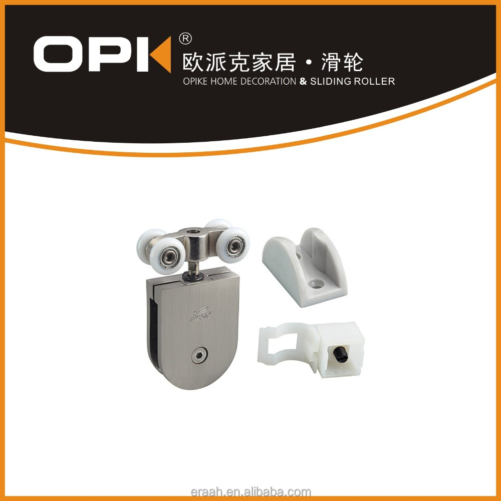 Shower Door Parts ---- Four Roller Sliders for Shower Cabin