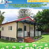 light steel villa luxury prefab steel frame villa design build