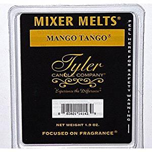 Tyler Candle Mixer Melts Wax Potpourri Set of 4 - Mango Tango