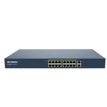 10/100/1000Base-T Acorid Gigabit Ethernet Switch 16 Port