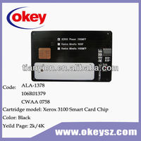 for xerox phaser 3100 mfp chip cards