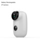 720p built in battery operated motion sensor wireless security ip camera