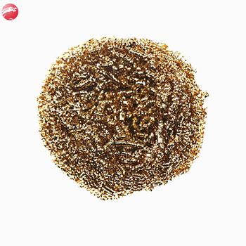 wholesale kitchen cleaning scrubber pure brass scourer metal scourer