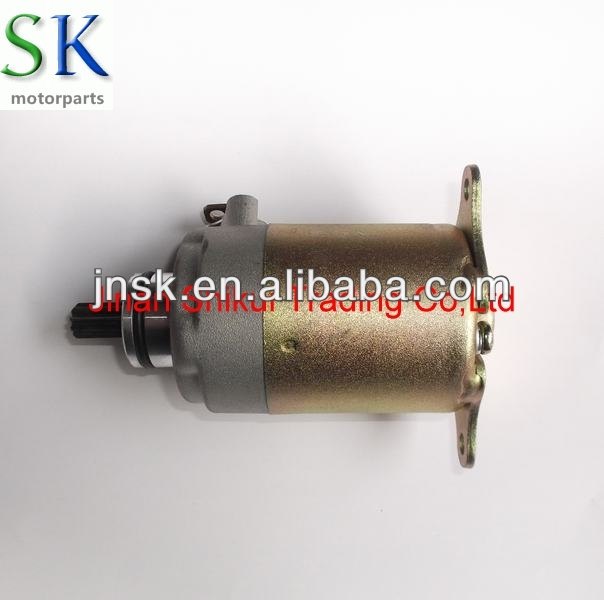 China manufacturer scooter Electrical system GY6-125 Motorcycle Starter Motor