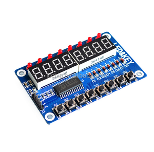 High Quality 51 TM1638 button digital tube LED display module (8 digital tube LED buttons) for the Ardiunos