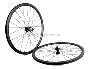 chosen ASP8646B/ASP8657 hub 26 inch MTB wheelset clincher 35mm width carbon MTB wheels 26 with champion spoke