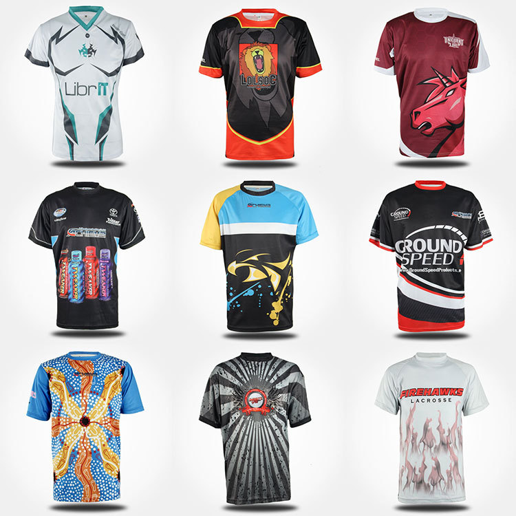 Sublimation Custom Cheap Wholesale Badminton Sports T-shirt - Buy ...