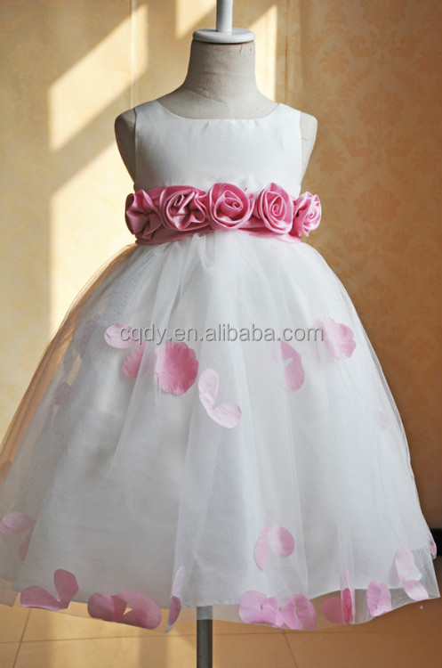 2018 New Arrival Flower S Wedding Dress Decoration With Rose Party Wear Westen