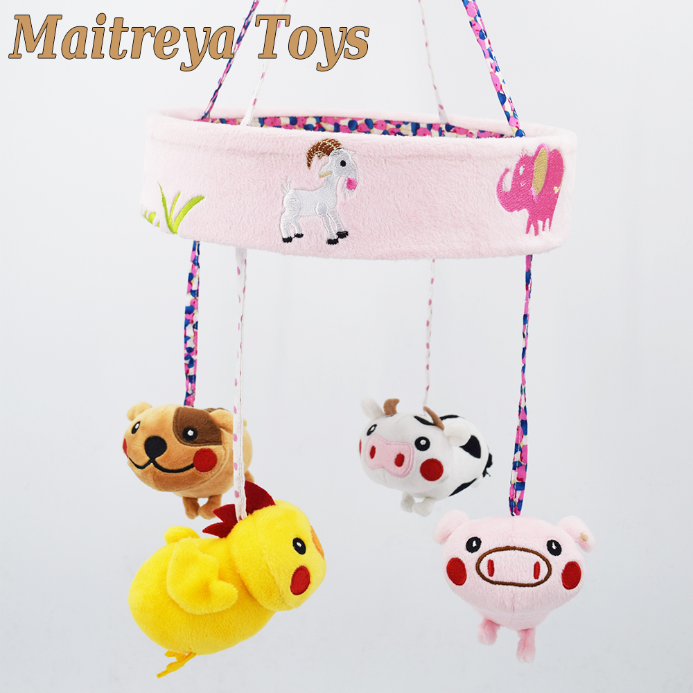 Provided Cute Butterfly Bat Baby Rattles Doll Baby Stroller Hanging Bed Infant Rattles Childrens Decoration To Have A Long Historical Standing Strollers Accessories Mother & Kids
