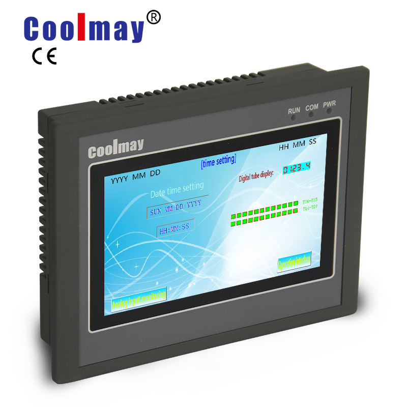 PT100 Analog integrated PLC <strong>controller</strong> with hmi touch screen all-in-one