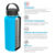 64 Oz Growli 18/8 Stainless Steel Vacuum Insulated Growlere - Features a Heavy-Duty Handle And Comes With Your Logo flask