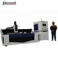 CNC Sheet Metal Laser Cutting Machine Price/Fiber Laser Cutting 500W 7500W 1KW 2KW 3KW from China durmark factory