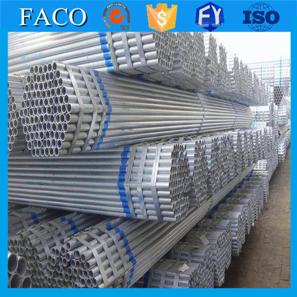 astm a53 type f steel pipe with galvanized gi steel hollow sections