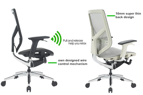 Tender Form Samhongsa Gas Lift Korean Mesh Office Chair