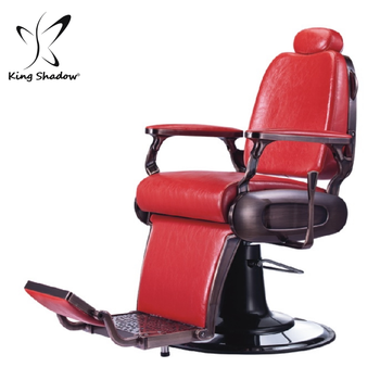 Rouge Normal Hydraulique Mecanisme De Chaise Barbier