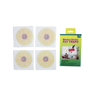 No Harming To The Environment Easy To Use Catch Sticky Hanging Fruit Flower Window Sticker Fly Glue Traps