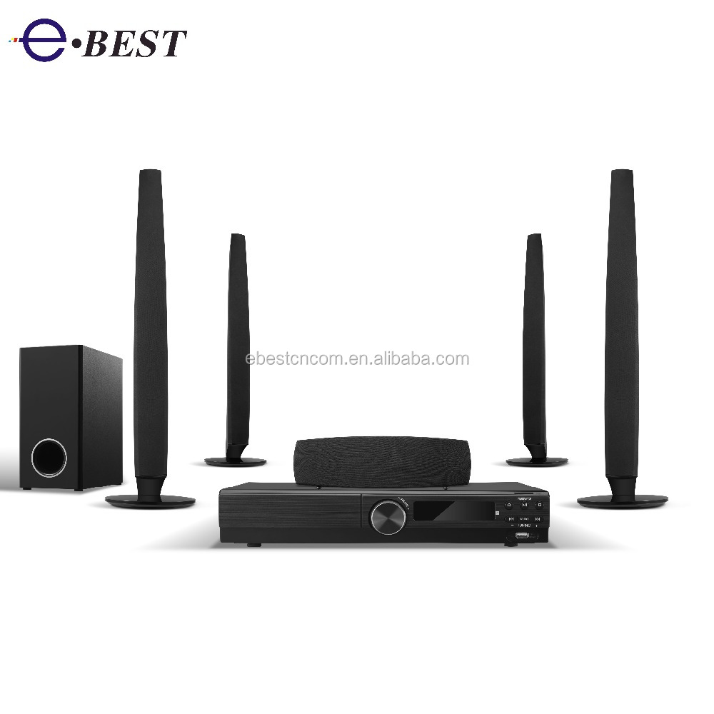 2017 Best 5.1CH Hifi home theater DVD system with FM function