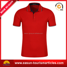 promotional man cotton polo t-shirt