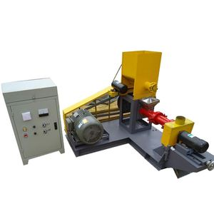 2016 Best selling fish pellet making machine/fish feed extruder dry extruding type/fish food