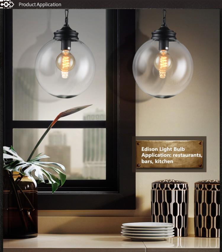 Buy Incandescent Bulb E27 40w Ac 110v T45 Tungsten: New Products Incandescent Bulbs G95 Globe Edison Bulb