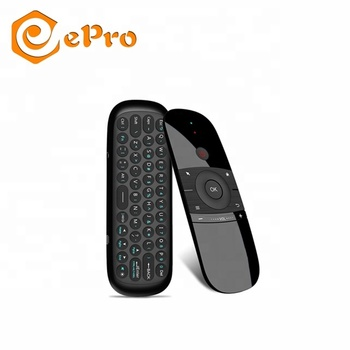 New Original Wechip W1 Keyboard Mouse Wireless W12.4G Fly Air Mouse Chargeable Mini Remote Control For Android TV Box/Mini PC/TV