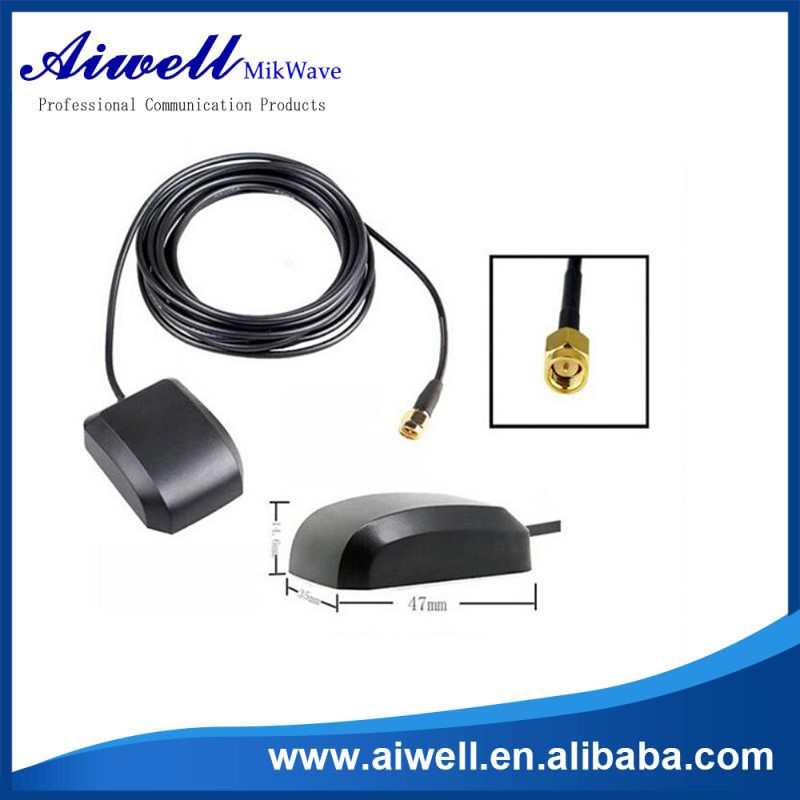 Magnetic Base Car 1575.42mhz Active Gps Antenna High Quality ...
