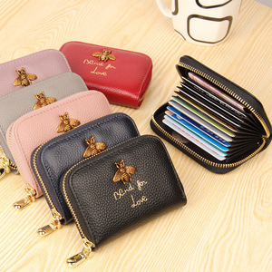 Trend Fashion 2018 Ladies Luxury Leather Handbag Wholesale Women's Wallet Bank Card Package