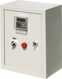 exhaust fan control box / cabinet / panel