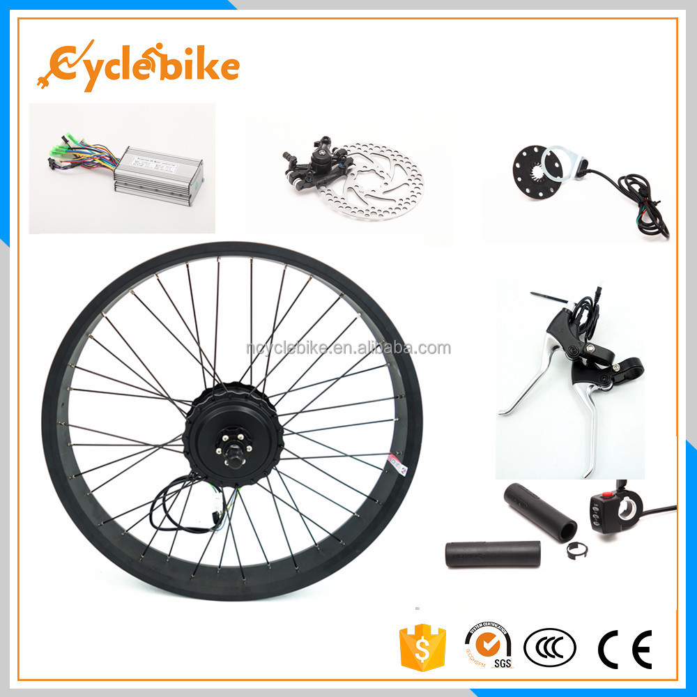 Waterproof material 20 inch snow bike waterproof electric bike kit with 4.0 fat tyre pedelec