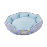 Breathable Comfort Bolster Cooling Deluxe Pet Bed Cool Dog Bed Pet